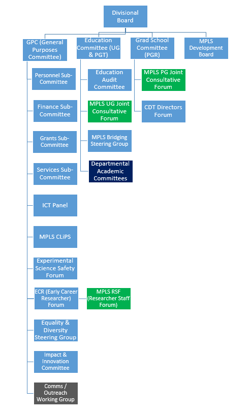 MPLS Committee Structure
