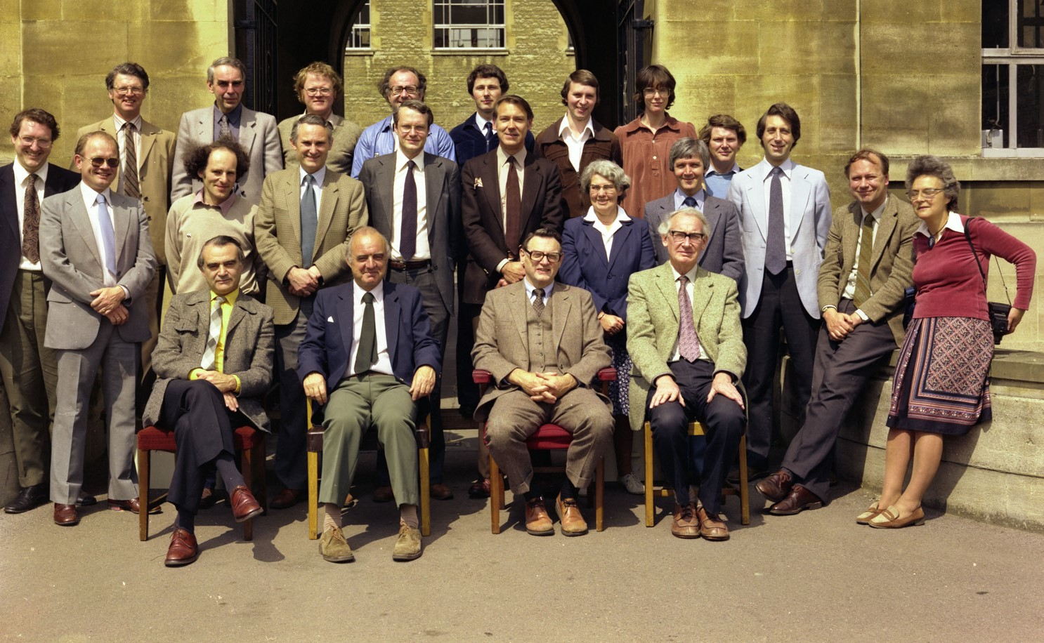 John Goodenough and his research group